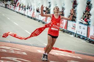 Artur Kozłowski - zwycięzca maratonu