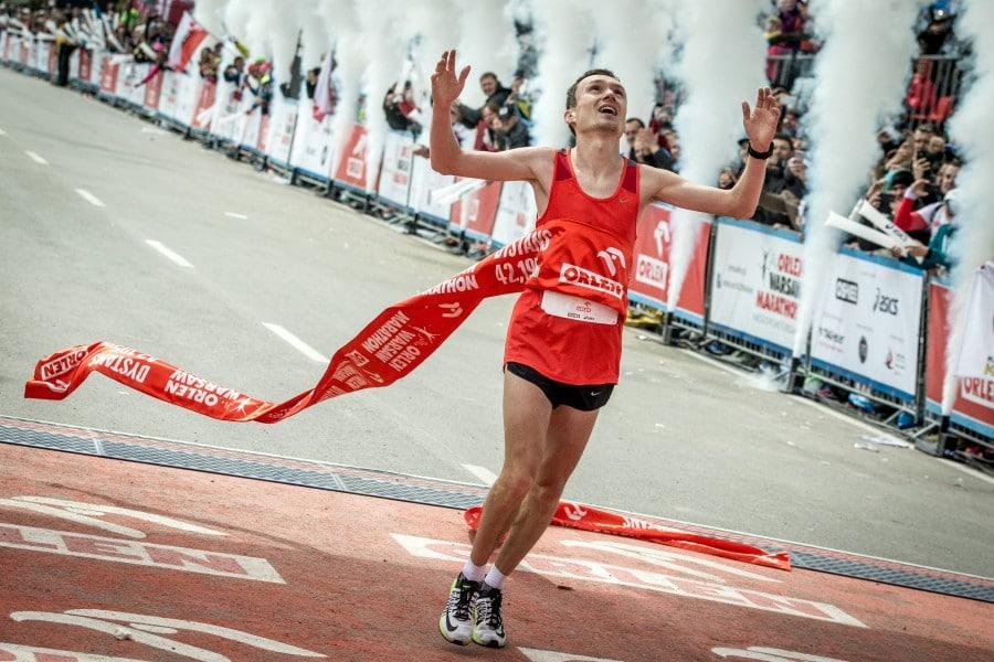 Obsługa tłumaczeniowa podczas Orlen Warsaw Marathon 2018.